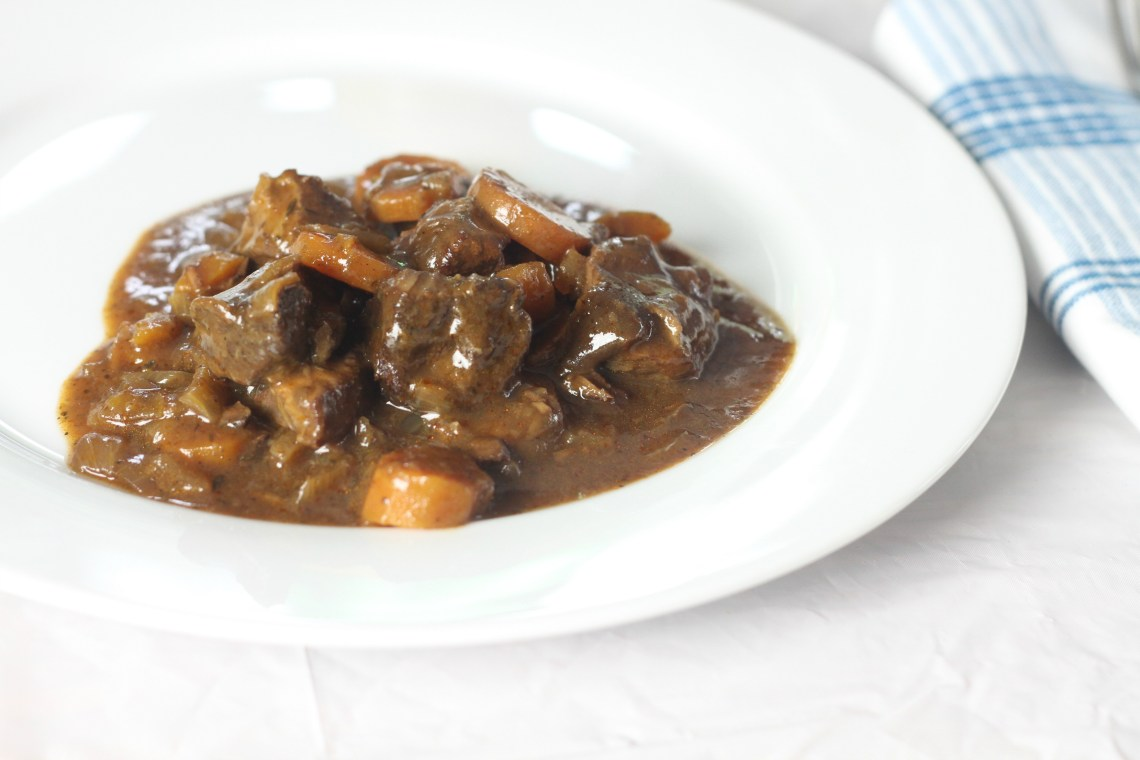 Slow Cooker Beef in Ale Stew