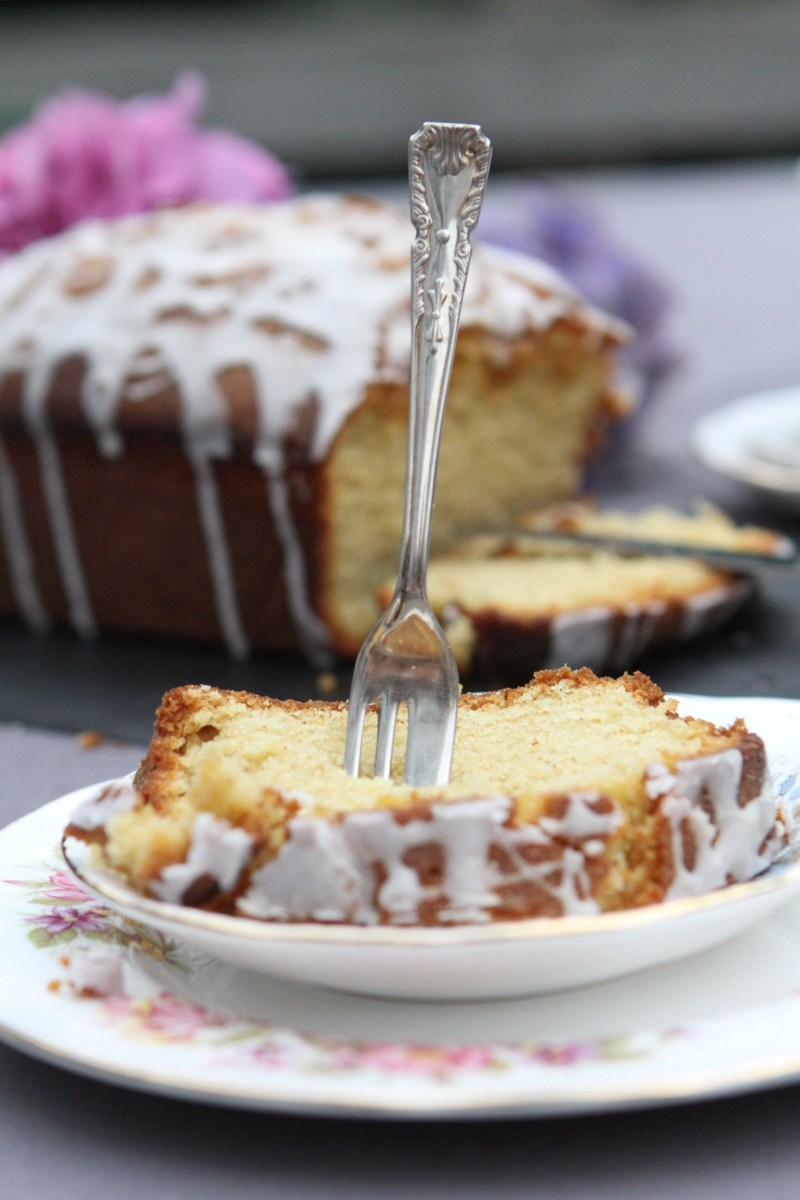 Ginger and Lemon Drizzle Cake