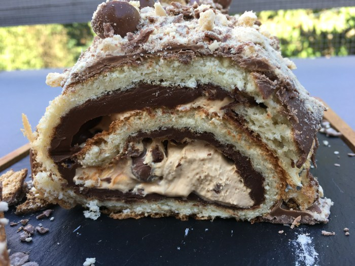 maltesers arctic roll roulade