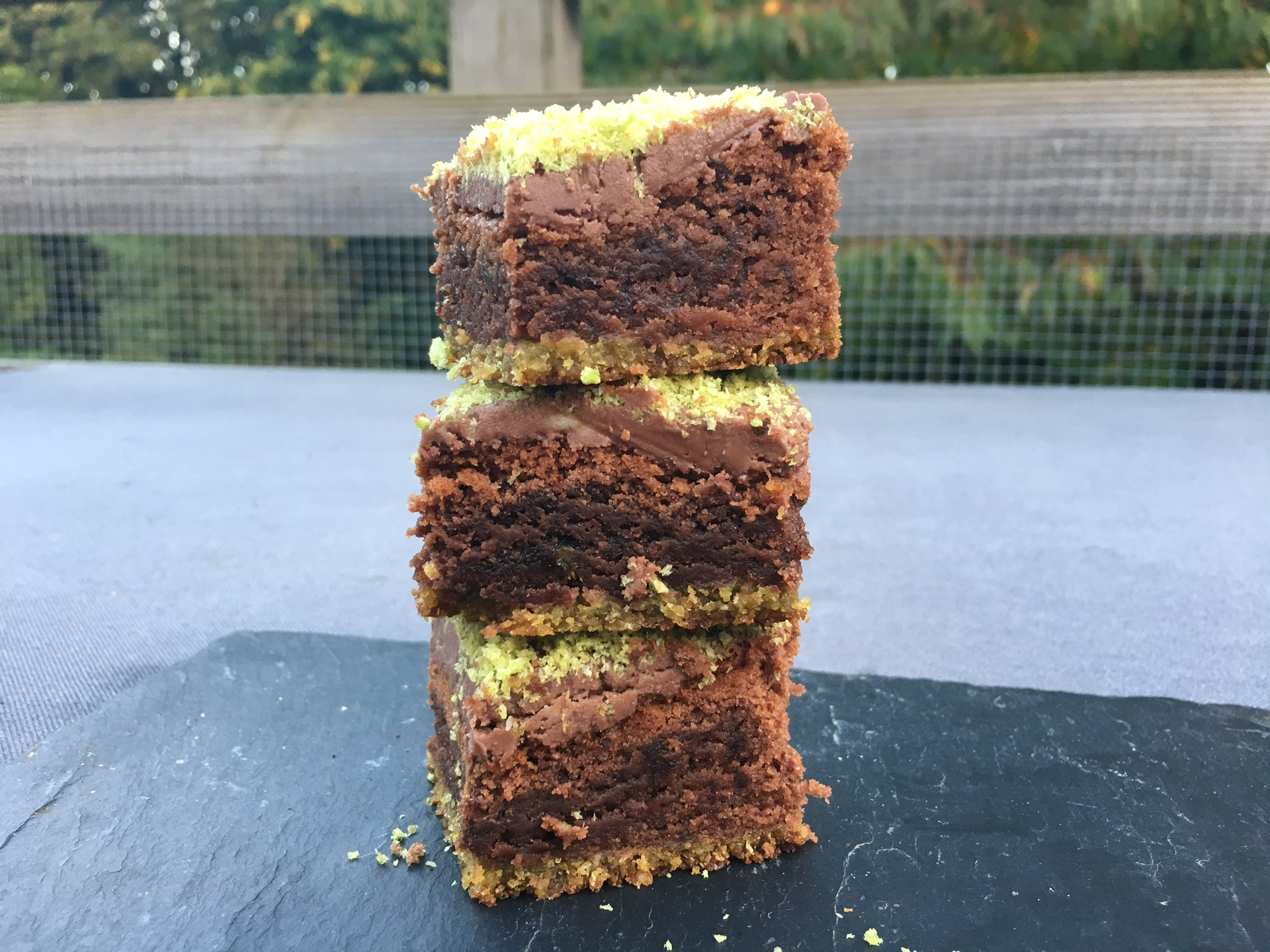Chocolate Orange Snapea Rice Stick Sugar Free Brownies