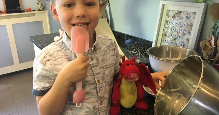 Boost's Berry Cake Bars : Cooking with Kids
