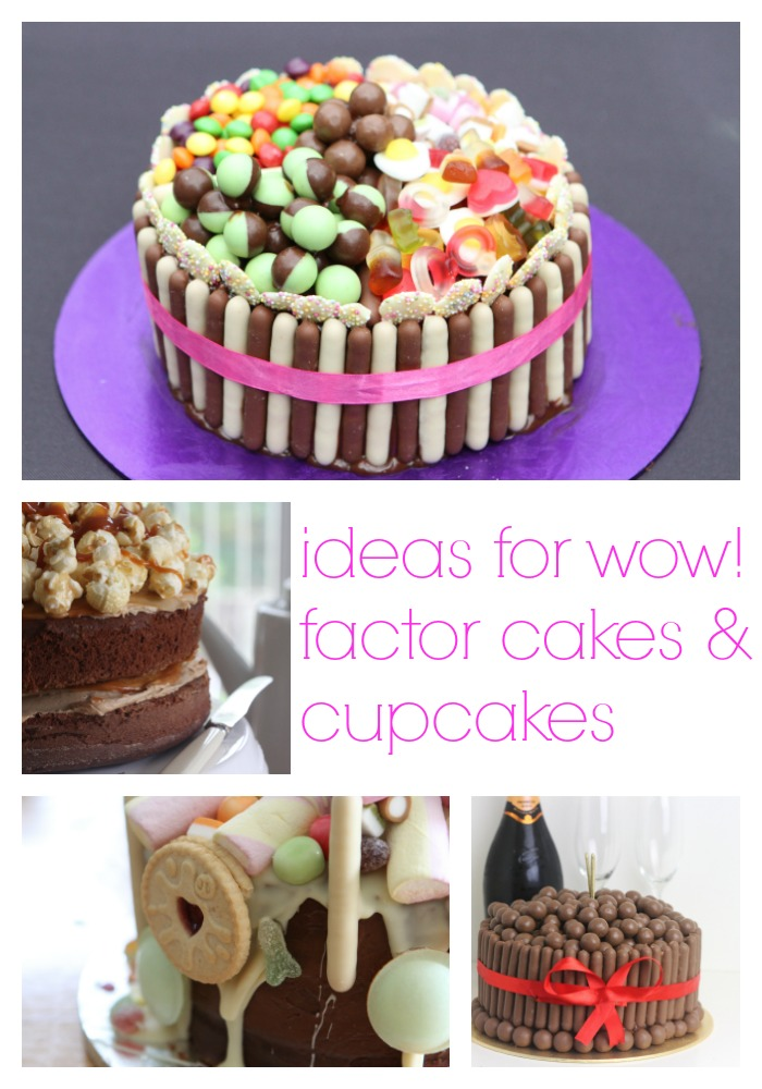 Ideas for Wow Factor Cakes & Cupcakes