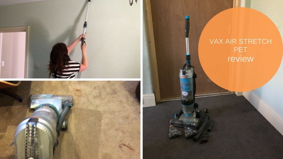 VAX Air Stretch Pet Vacuum Cleaner  #Review