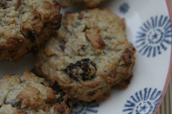 Gluten and Sugar Free Bircher Muesli Cookies