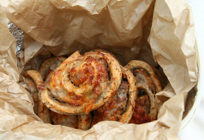 Sausage Pizza Roll Pinwheels