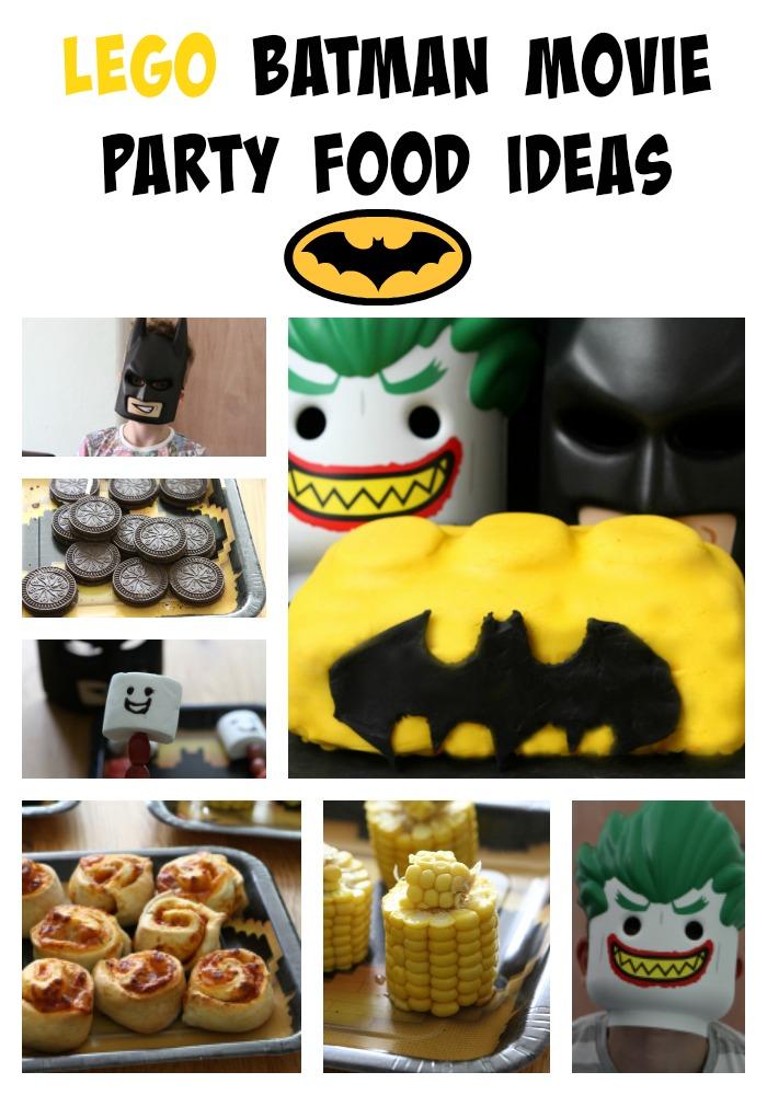 LEGO Batman Movie Party Food Ideas