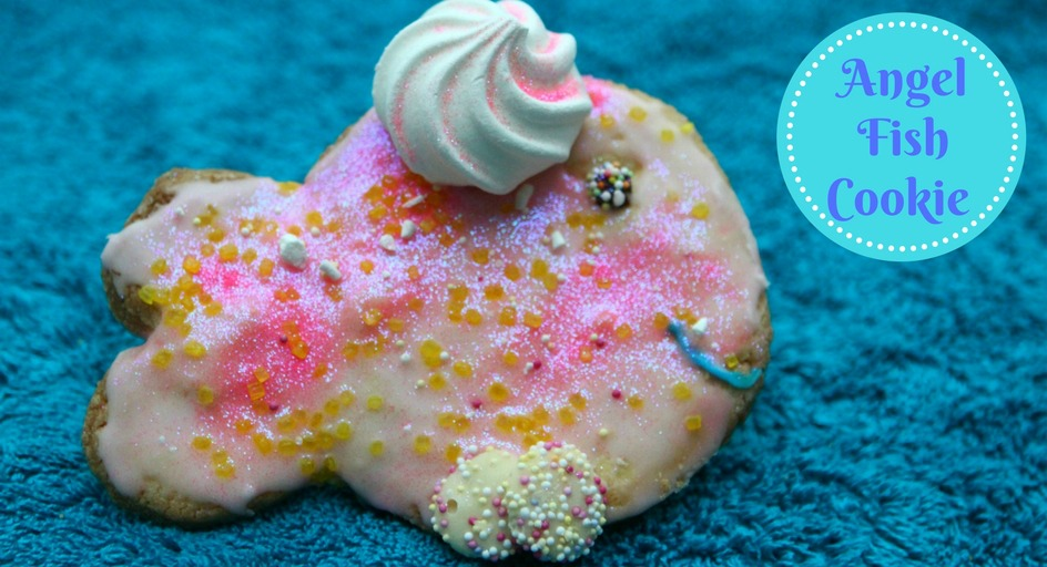 Angel Fish Biscuit #GBBO #GBBOBloggers2017