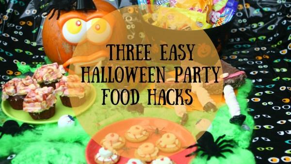 Three Easy Halloween Party Food Hacks #Ad
