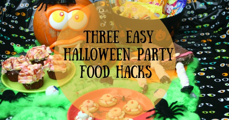 Three Easy Halloween Party Food Hacks #Ad