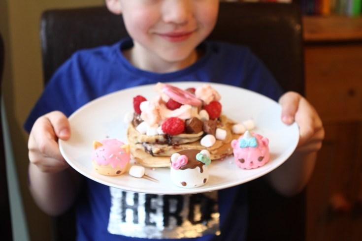 NumNoms Inspired Pancakes #NumNomsPancakeDay