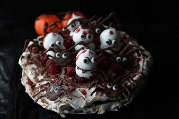 Spooktacular Halloween Pavlova
