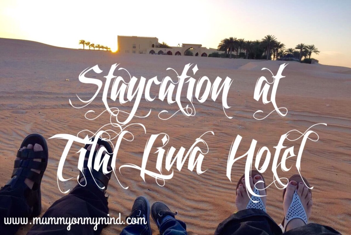 Staycation at Tilal Liwa Hotel...