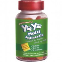 Multi+Minerals Gummies : YaYa Vitamins Review