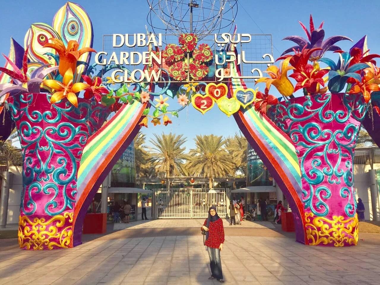 A Family Day Out To Dubai Garden Glowu2026