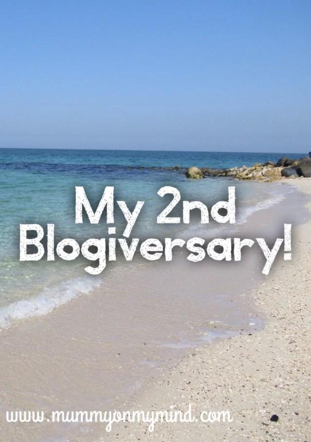 mummyonmymind blogiversary blog