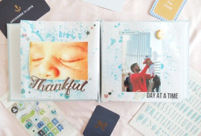 newborn keepsake album mummyonmymind