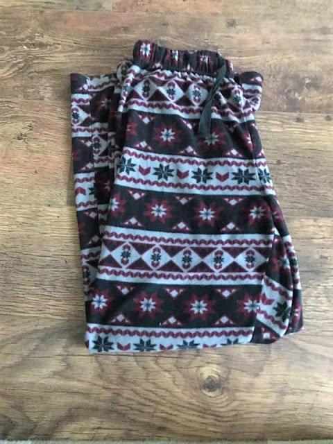 mens fleece pyjamas