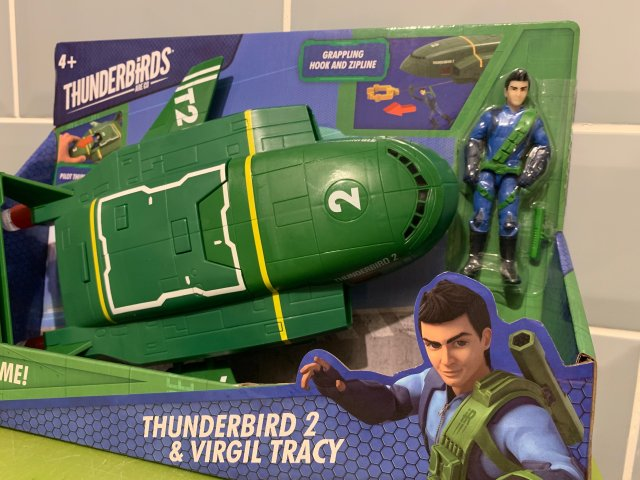 Thunderbird 2 Virgil