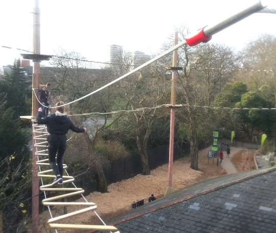 Go Ape Battersea Park Review London S Treetop Day Out