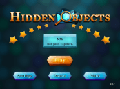 Hidden objects app