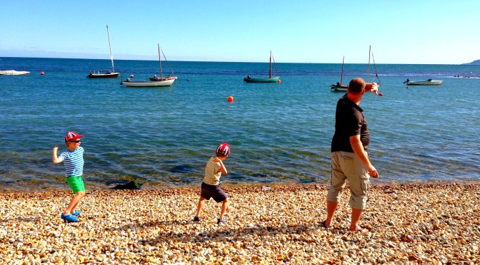 pigeon pair, dad, boys, simple fun, mumof2. mum of 2, beach, #50things, pigeon pair
