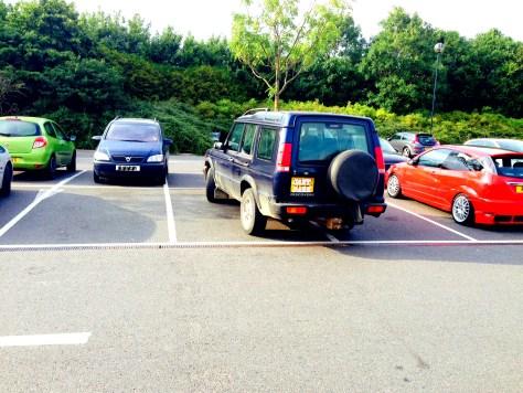 idiot parking, mumof2