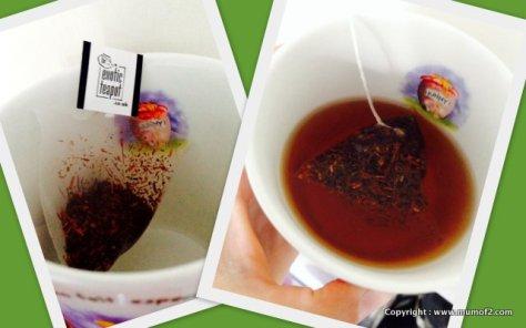 tea, mumof2, rooibos, review