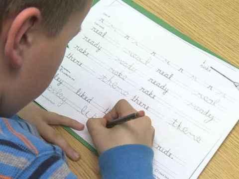 Is Cursive handwriting Making Children Struggle