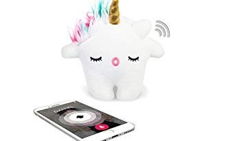 Toymail Talkie Nunu A Unicorn, Wi-Fi Voice Chat Smart Toy Lets Kids Stay Connected To You, As Seen On Shark Tank