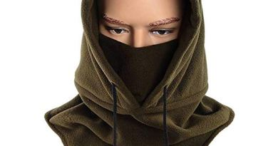 Balaclava Full Face Mask Fleece Warm Winter Outdoor Sports Mask Wind-resistant Hood Hat Multi Colors