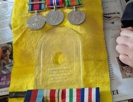 Heroes Medals Stolen Can You Help?
