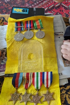 Heroes Medals Stolen Can You Help?