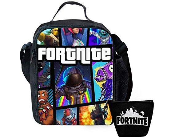 Fortnite Lunch Bag Insulated Lunch Box