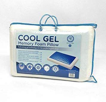 Cool Gel and Memory Foam Pillow (Reversible Pillow)