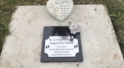Baby Grave Being Vandalised Can You Help?