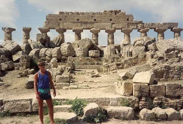 Temple of Hera, Selinunte, 1989
