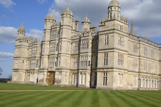 Burghley House exterior