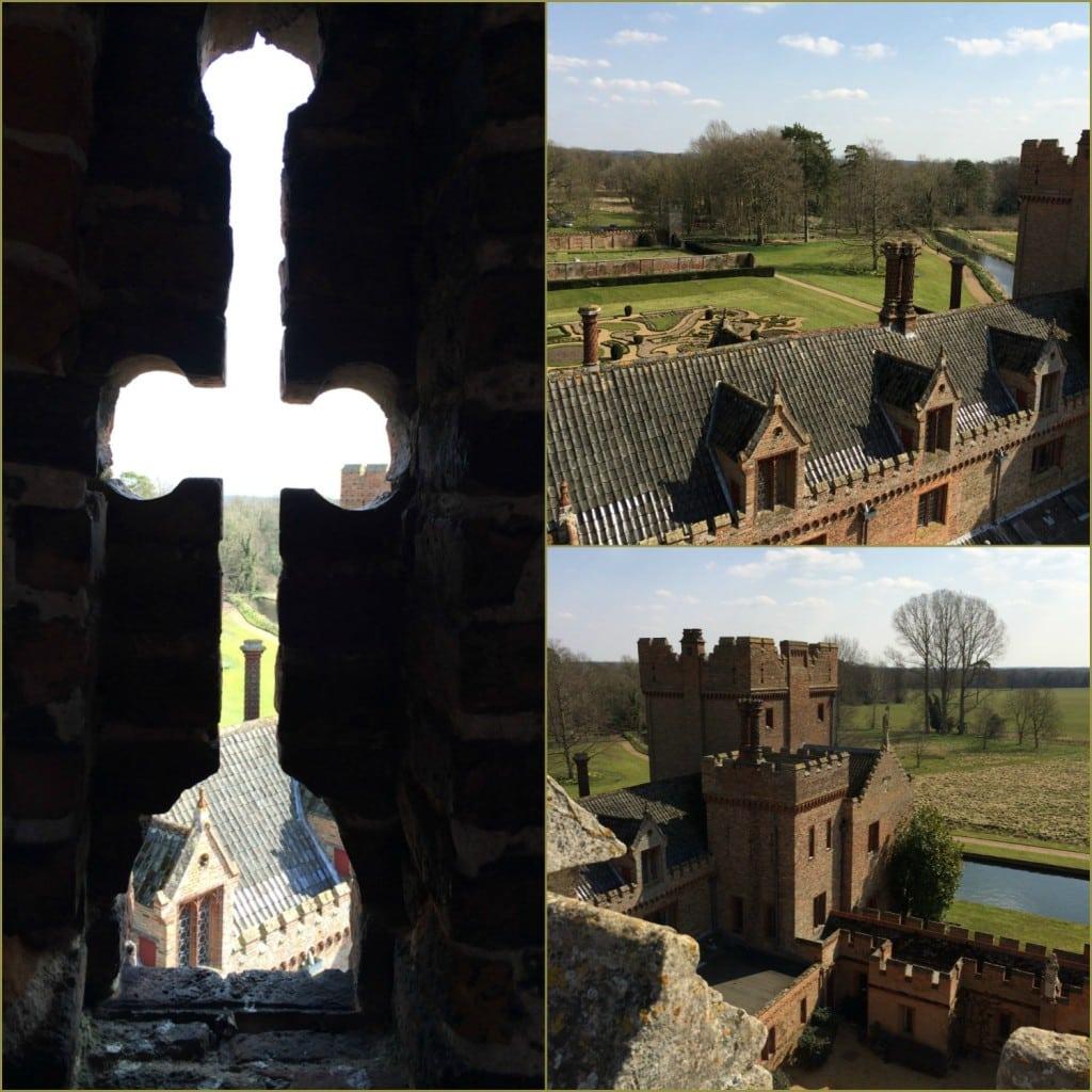 Oxburgh Hall views