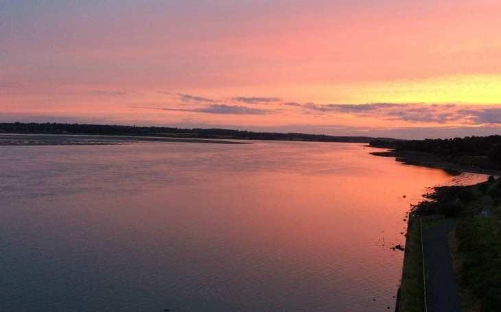 sunrise Caernarfon