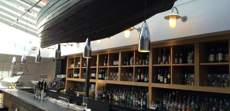 bar in The Crown Woodbridge