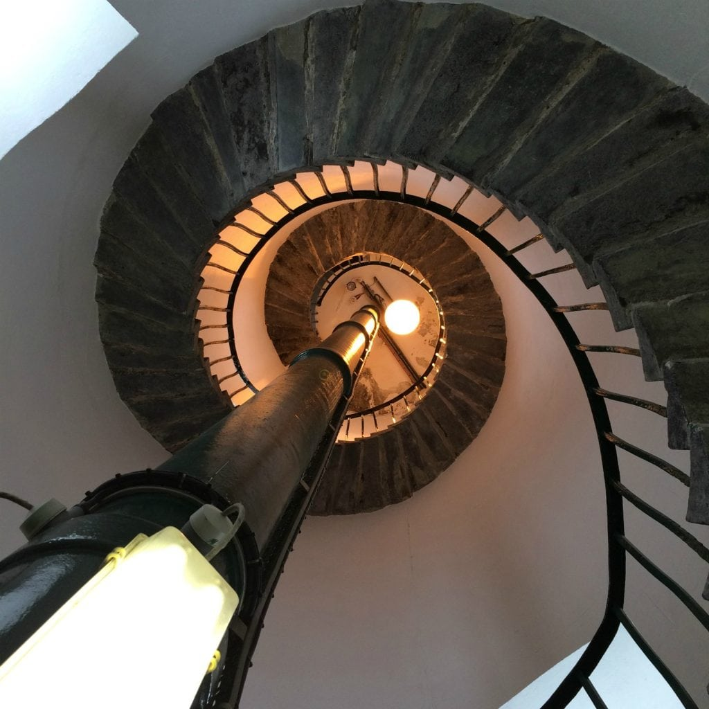 South stack lightouse internal