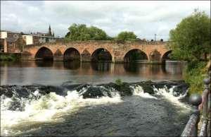 Devorgilla Bridge Dumfries