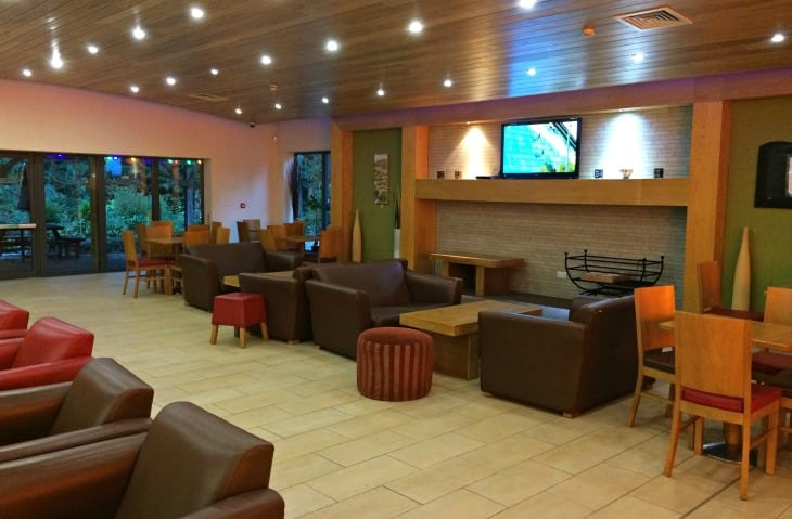Fell End holiday park lounge