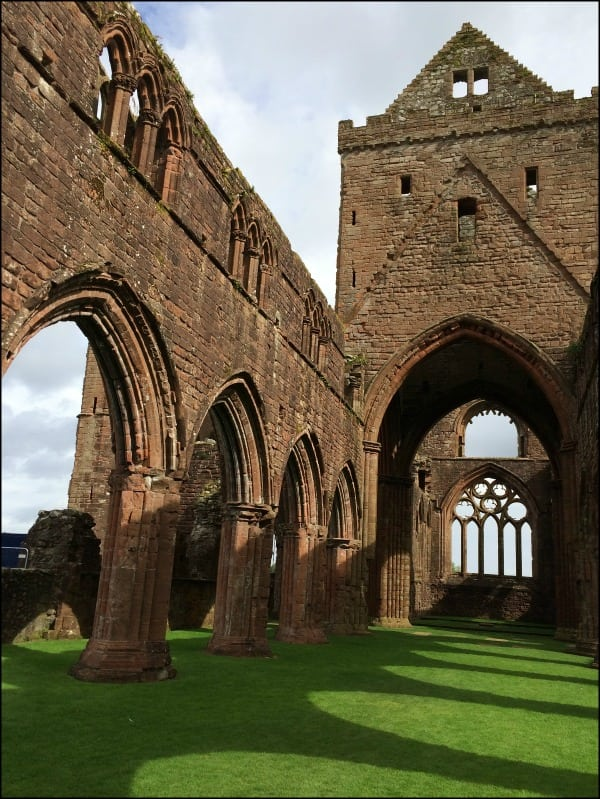 Sweetheart Abbey Dumfries and Galloway