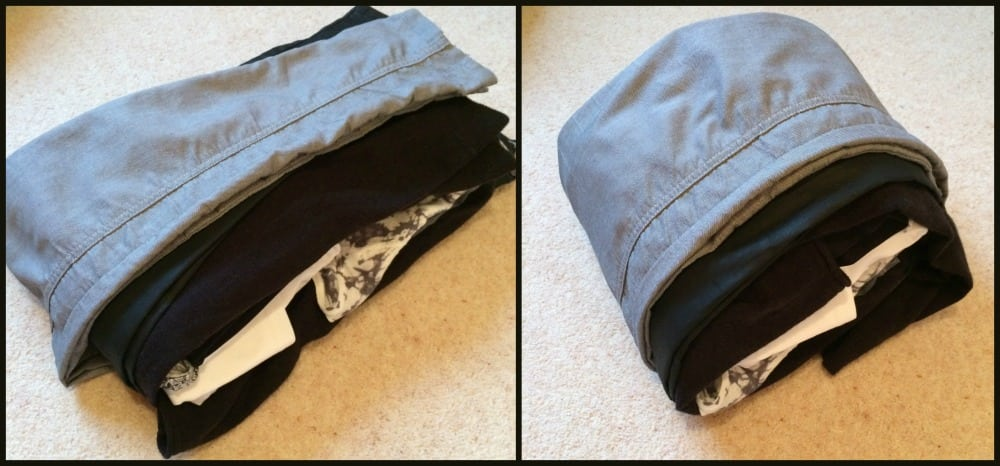 Rolling packing method