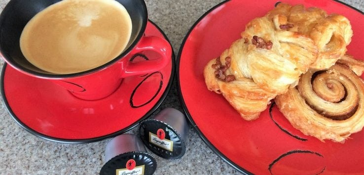 coffee and pastries
