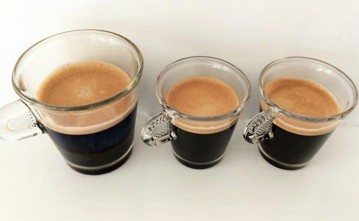 Leysieffer coffee lungo crema ristretto