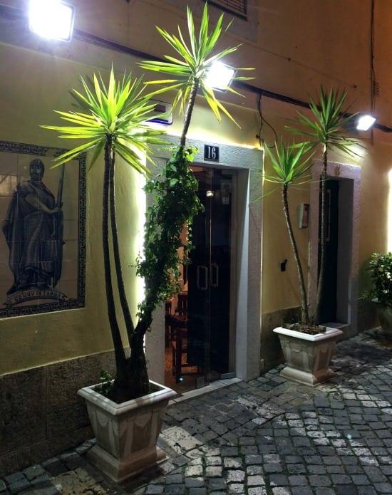 O Conquistador restaurant Lisbon