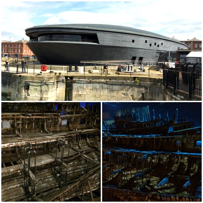 Mary Rose Portsmouth harbour