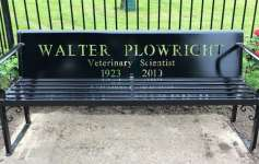 Walter Plowright bench, Holbeach